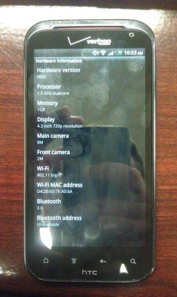 HTC Vigor Live Bilder