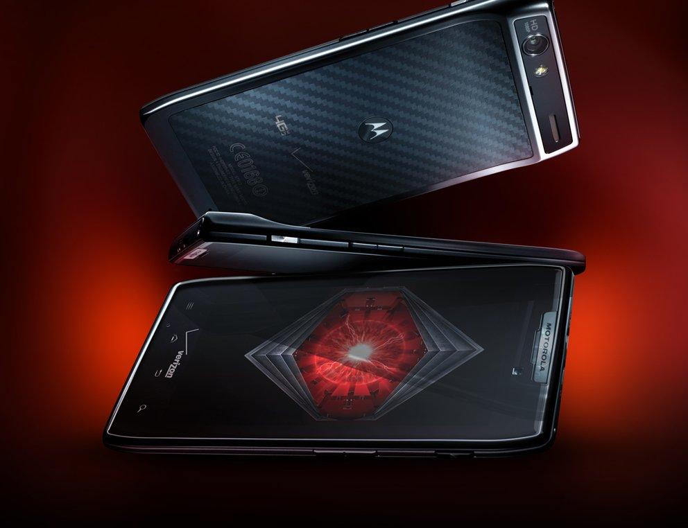 Motorola DROID RAZR fast enthüllt
