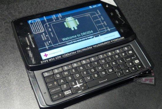 Motorola Droid 4 erscheint am 10. Februar in Amerika