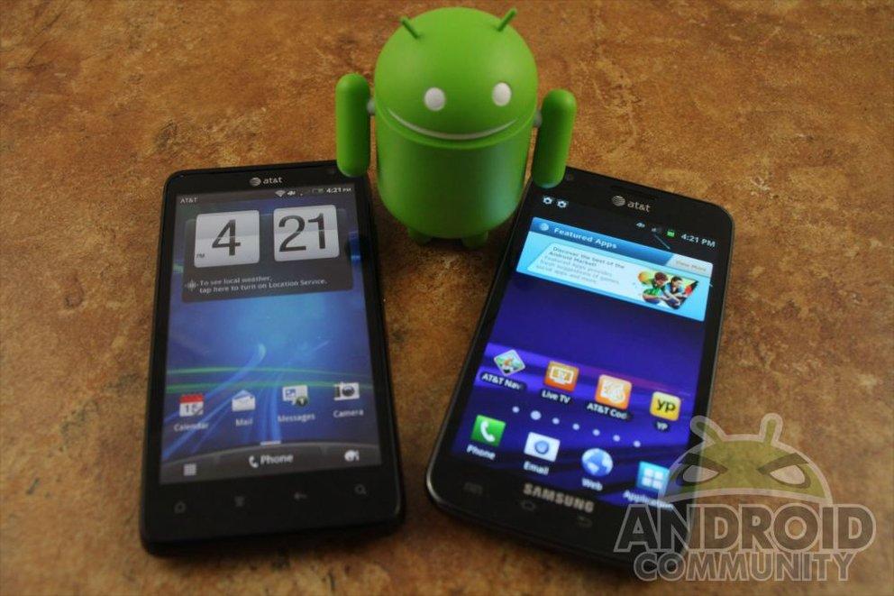 HTC Vivid wurde bereits getestet