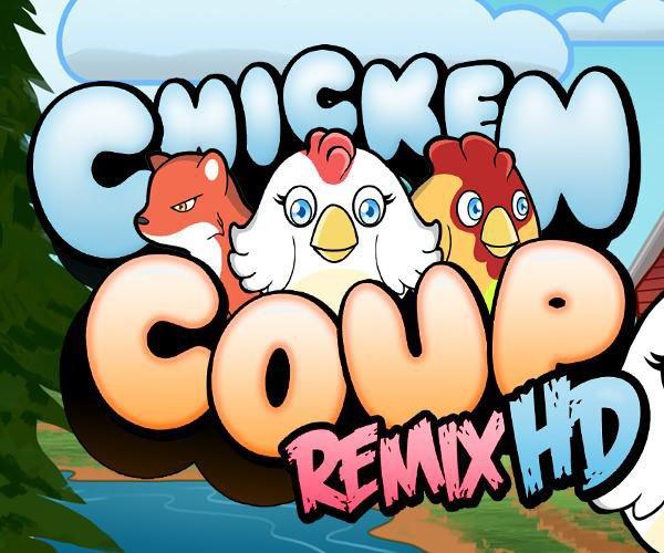Chicken Coup Remix HD: Rette die Hühner!