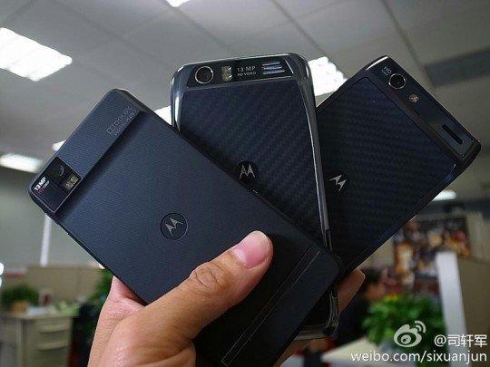 Kommt das Motorola RAZR mit einem HD-Display nach China?