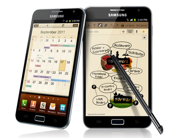 Samsung Galaxy Note: Video zeigt Android 4.0 Ice Cream Sandwich