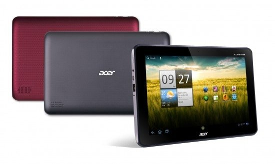Acer Iconia Tab A200: Android 4.0 Ice Cream Sandwich wird in den USA verteilt
