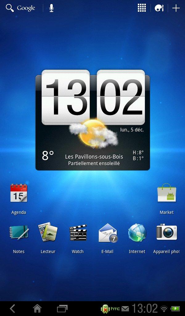 HTC Flyer: Android 3.2-Update trifft ein