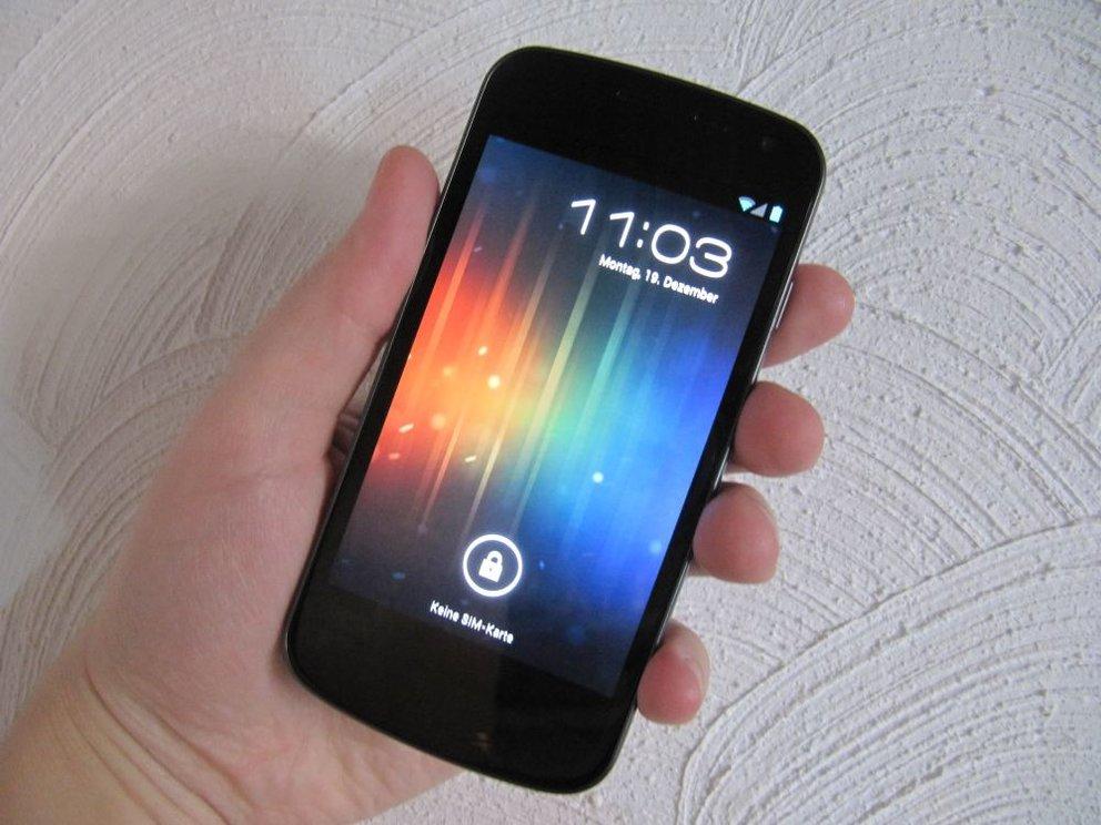 Samsung Galaxy Nexus Multitouch-Bug
