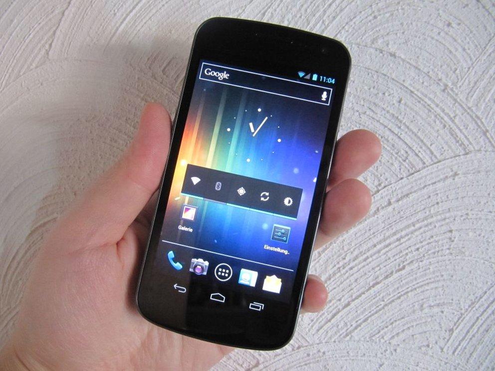 Galaxy Nexus mit 32 GB kann bereits vorbestellt werden