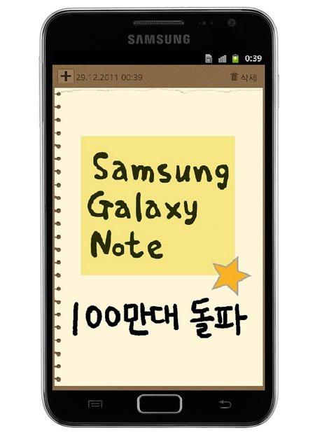 Galaxy Note-Besitzer bekommen Flip-Cover von Samsung geschenkt