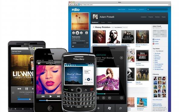 Musikstreaming-Dienst Rdio jetzt auch in Deutschland gestartet