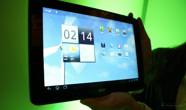 Acer Iconia Tab A700 im Hands-On
