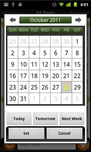 Task N Todos für Android