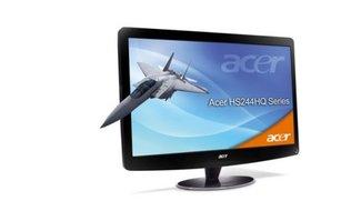 Der 3D-Monitor HS244HQBMII von Acer für 199 Euro