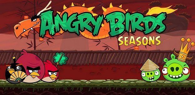 Angry Birds Seasons erhält Update - Das Jahr des Drachen