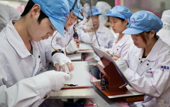 Apple Lieferanten Arbeiter