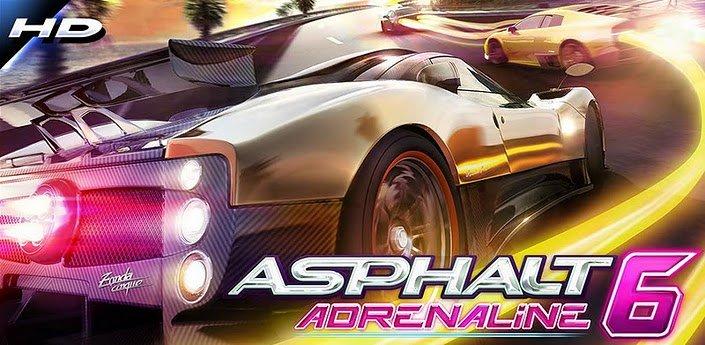 Asphalt 6: Adrenaline HD - kostenlos bei GetJar Gold