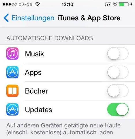Automatische-Downloads-Apps