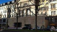 Neue Bilder: Berliner Apple Store hinter Holz, Spekulation um weitere Stores