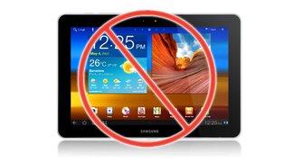 Düsseldorfer Gericht bestätigt Verkaufsverbot des Galaxy Tab