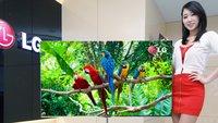 Mögliches iTV-Vorbild: LG zeigt 55-Zoll-Fernseher mit OLED-Display