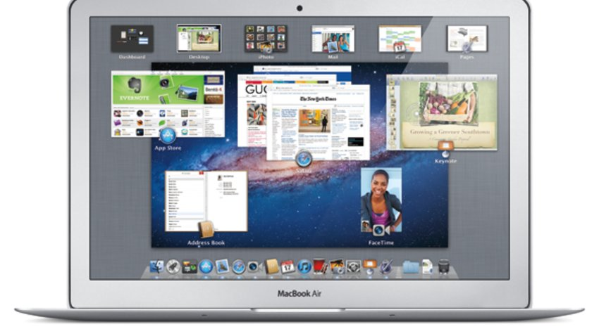 OS X Lion MacBook Air