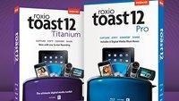 Roxio Toast 12: Neue Brennsoftware für den Mac