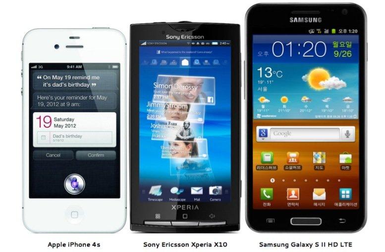 Smartphones: Wer hat den größten...?
