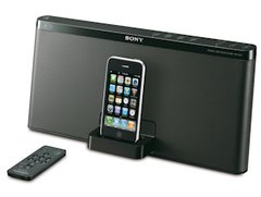 RDP-X60iP von Sony - iPod/iPhone Docking-Station für drahloses Musik-Streaming