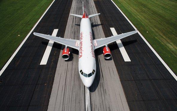 Virgin-America-Airbus: Hommage an Steve Jobs