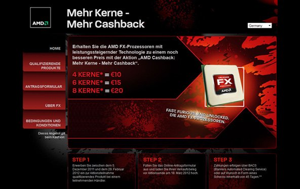 FX-CPUs - AMD erstattet teilweise den Kaufpreis zurück