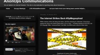 Anonymous - DDoS-Angriffe als Reaktion auf MegaUpload-Schließung