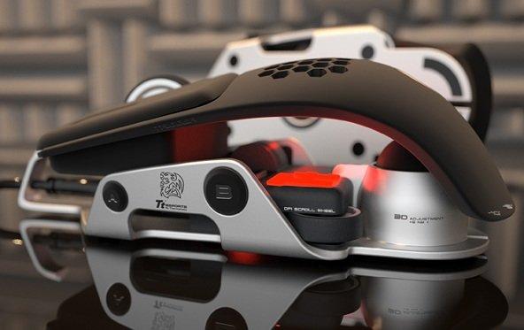 BMW-Designworks - Thermaltake Level 10M Gaming Maus