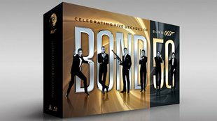 Bond 50 – alle 007-Filme in einer BD-Box!