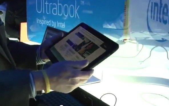 CES 2012: Compals Referenzdesign für Ultrabook-Tablets in der Videoübersicht