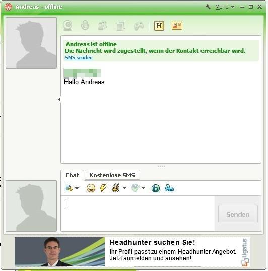 ICQ 7 Benutzeroberfläache
