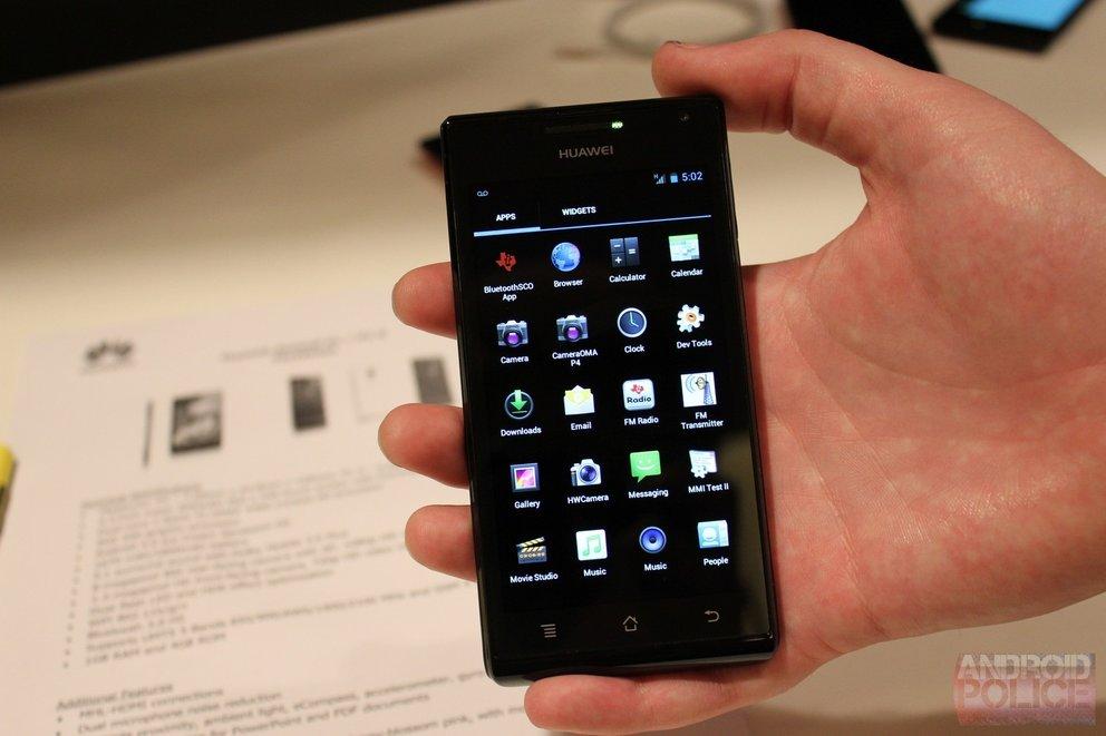 Huawei Ascend P1 s: Ultradünnes Dual-Core-Smartphone