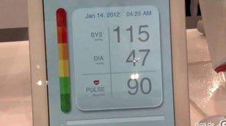 iHealth: Blutdruckmesser für iPhone und iPad im Hands-On