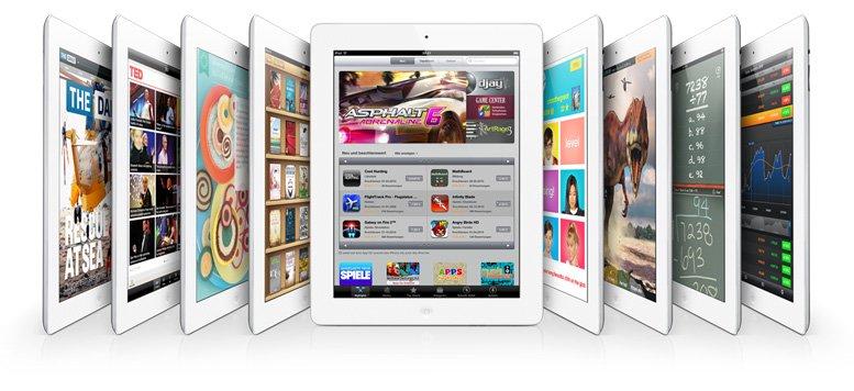 Tablet-Markt: iPad mit 58 Prozent, Android mit 39 Prozent Marktanteil