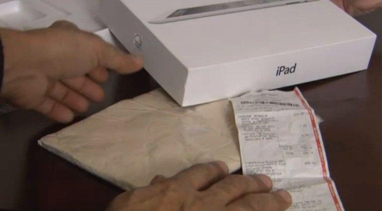 iPads aus Knetmasse in amerikanischen Geschäften verkauft