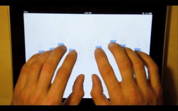 LiquidKeyboard: Die Tastatur kommt zu den Fingern, nicht umgekehrt