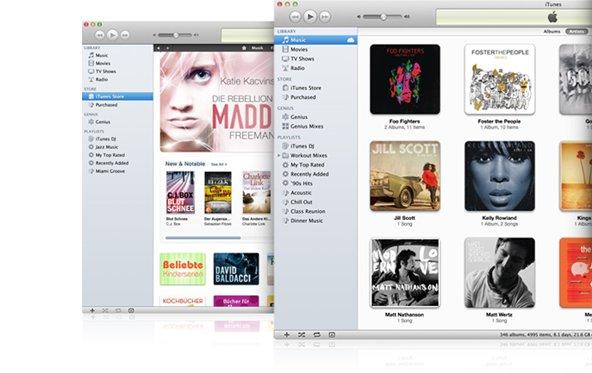 iTunes 10.6.1 behebt Bugs