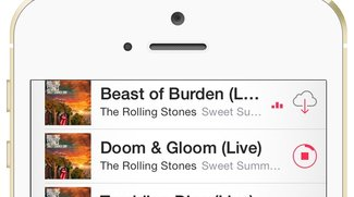 iTunes in der Cloud: Songs auf das iPhone laden