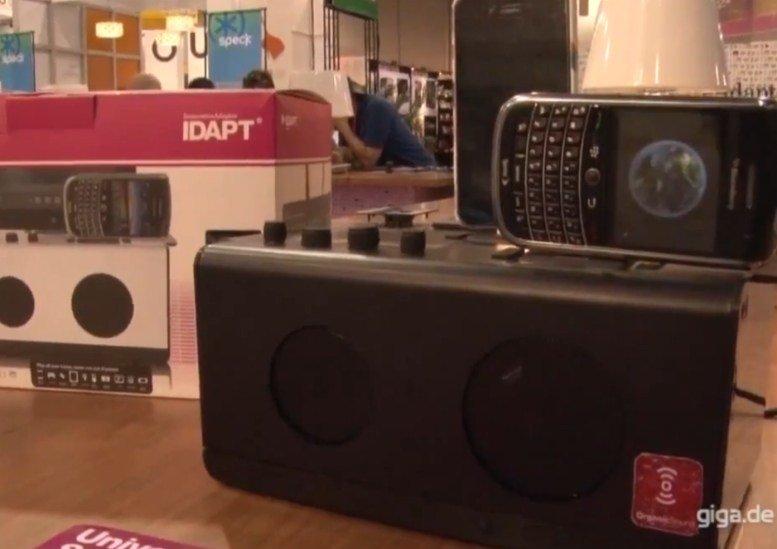 Idapt: Sound- und Ladestation für iPhone und andere Smartphones (Video)