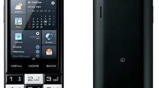 Infobar C01 - Schachbrettmuster-Smartphone mit numerischer Tastatur