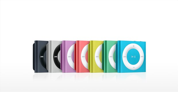 iPod shuffle erobert den amerikanischen MP3-Player-Markt