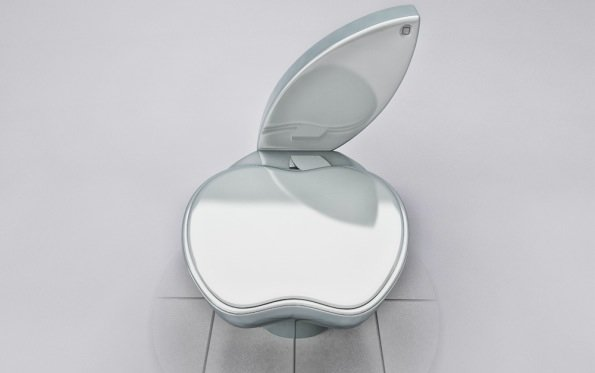 Apple-Design fürs Klo: iPoo Toilet