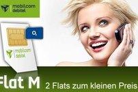 2 o2 Flats für 1,99 Euro im Monat