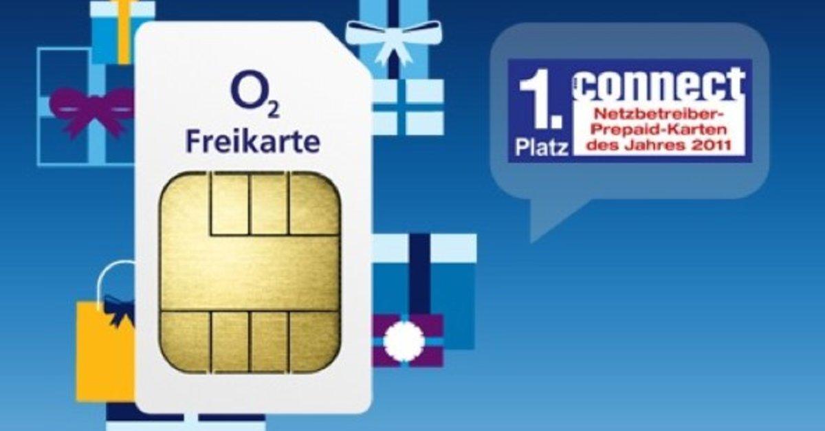 o2 gratis karte