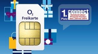 o2 Gratis Prepaid-Karte mit Bonus