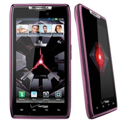 Motorola RAZR - So sieht das Smartphone in Violett aus