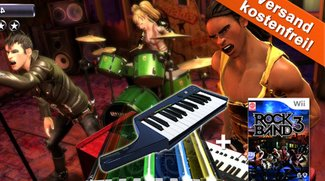 Rock Band 3 Bundle inklusive Keyboard ab 29,99 Euro